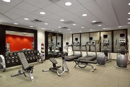 Health club fitness center gym | Embassy Suites by Hilton Detroit Metro Airport