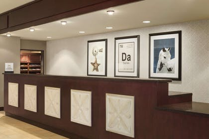 Reception | DoubleTree by Hilton Hotel Dallas - DFW Airport North