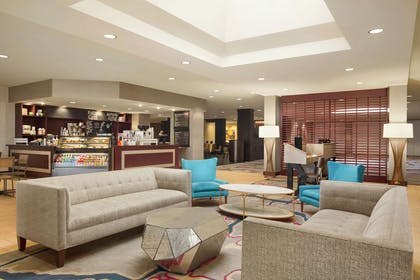 Lobby | DoubleTree by Hilton Hotel Dallas - DFW Airport North