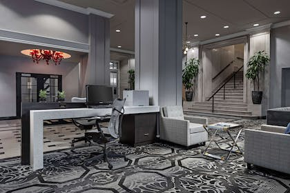 Lobby | DoubleTree Suites by Hilton Detroit Downtown - Fort Shelby