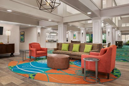 Lobby | Homewood Suites by Hilton Fort Myers