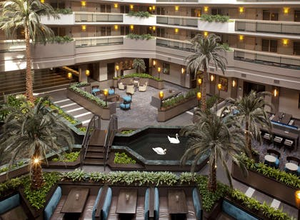Lobby | Embassy Suites by Hilton Houston Near the Galleria