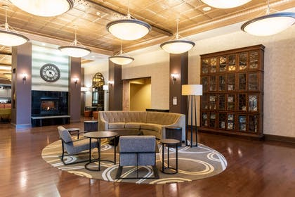 Lobby | Homewood Suites by Hilton Indianapolis-Downtown