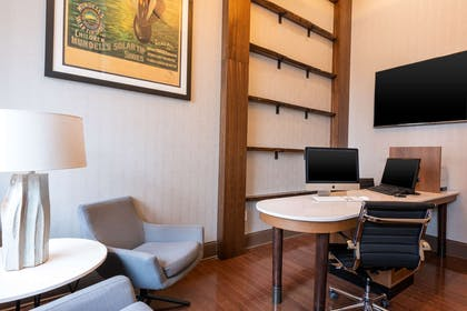 Business Center | Homewood Suites by Hilton Indianapolis-Downtown