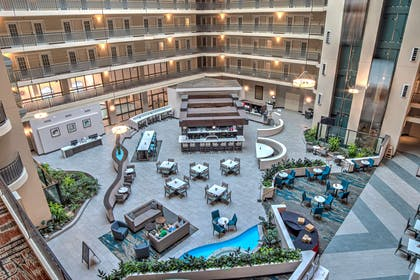 Lobby | Embassy Suites by Hilton Indianapolis North