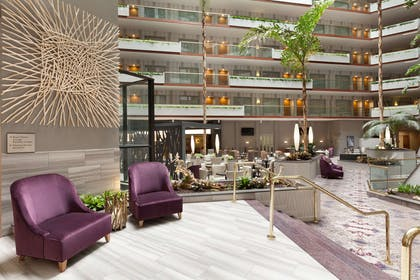 Lobby | Embassy Suites by Hilton Irvine Orange County Airport