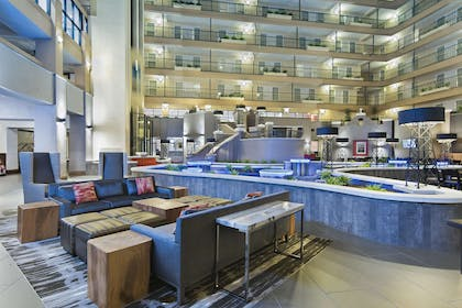Lobby | Embassy Suites by Hilton, Los Angeles - Downey