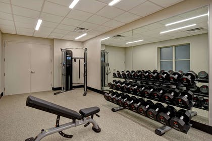 Health club fitness center gym   Embassy Suites by Hilton Little Rock