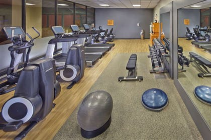 Health club fitness center gym | DoubleTree by Hilton Hotel Little Rock