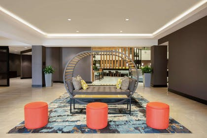 Lobby | Embassy Suites by Hilton Orlando Airport