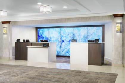 Reception   DoubleTree by Hilton Orlando Airport