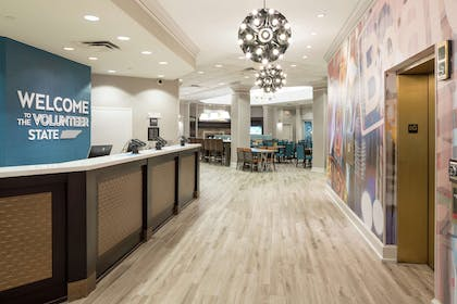 Reception | Hampton Inn & Suites Memphis-Beale Street