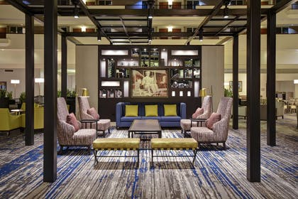 Lobby | Embassy Suites by Hilton Montgomery Hotel & Conference Center