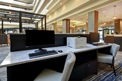 Business Center | Embassy Suites by Hilton Montgomery Hotel & Conference Center