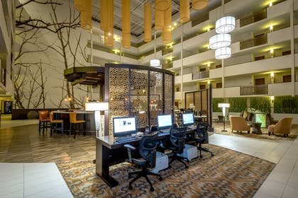 Business Center | Doubletree by Hilton Hotel Montgomery Downtown