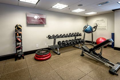 Health club fitness center gym | Doubletree by Hilton Hotel Montgomery Downtown