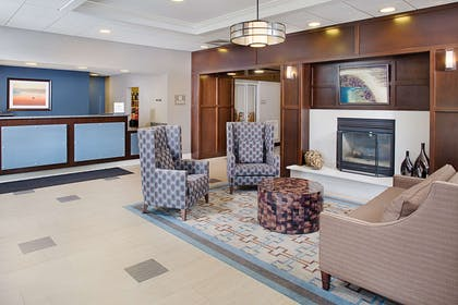 Reception   Homewood Suites by Hilton Manchester/Airport