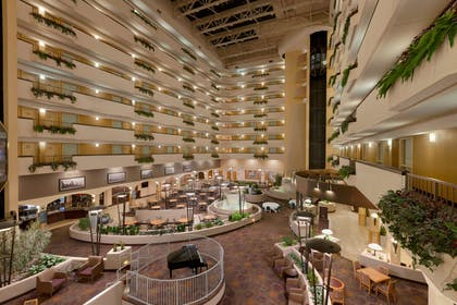 Lobby | Embassy Suites by Hilton Kansas City International Airport