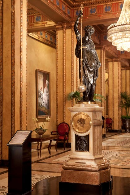 Lobby | The Roosevelt New Orleans, A Waldorf Astoria Hotel