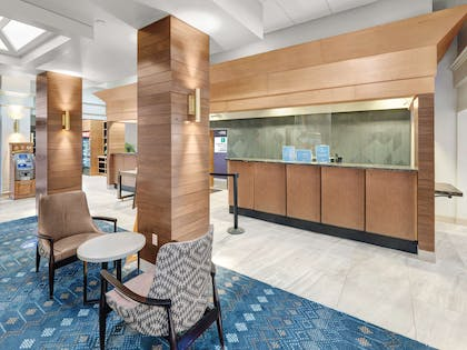 Reception | Embassy Suites by Hilton Oklahoma City-Will Rogers World Airport
