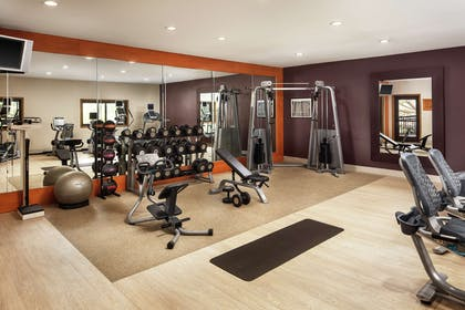 Health club fitness center gym | DoubleTree by Hilton Claremont