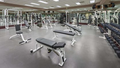 Health club | DoubleTree Suites by Hilton Htl & Conf Cntr Downers Grove