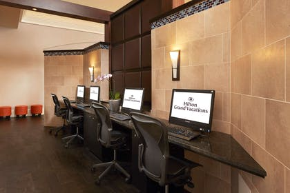 Business Center | Hilton Grand Vacations at SeaWorld