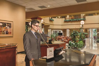 Reception | Embassy Suites by Hilton Portland Airport