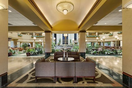 Lobby | Embassy Suites by Hilton Portland Airport