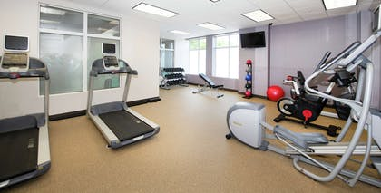 Health club fitness center gym | Hilton Garden Inn Philadelphia Ft. Washington