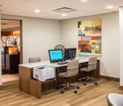 Business Center | DoubleTree by Hilton Hotel & Suites Pittsburgh Downtown