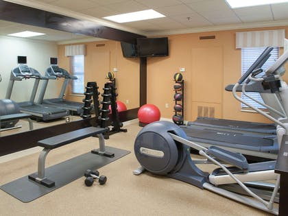 Health club fitness center gym | Homewood Suites by Hilton Pensacola Airport