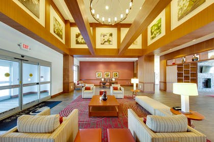 Lobby | DoubleTree by Hilton Hotel Raleigh - Cary