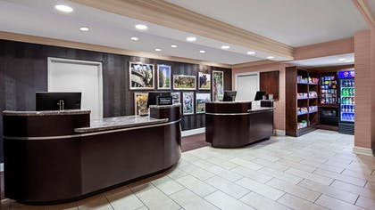 Reception | DoubleTree by Hilton Hotel Raleigh-Durham Airport at Research Triangle Park