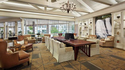Business Center | DoubleTree by Hilton Hotel Raleigh-Durham Airport at Research Triangle Park
