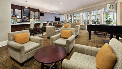 Lobby | DoubleTree by Hilton Hotel Raleigh-Durham Airport at Research Triangle Park