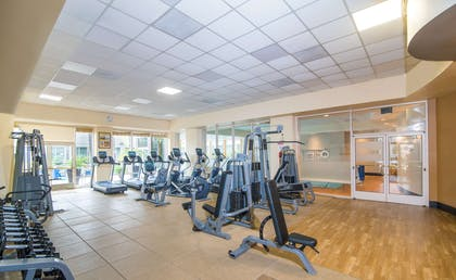 Health club fitness center gym | DoubleTree by Hilton Hotel San Diego - Mission Valley