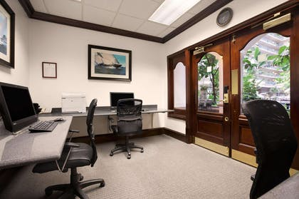 Business Center | Embassy Suites by Hilton San Francisco Airport Waterfront