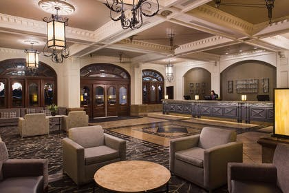 Reception | Embassy Suites by Hilton San Francisco Airport Waterfront