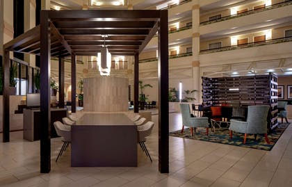 Lobby | DoubleTree Suites by Hilton Hotel Salt Lake City Downtown