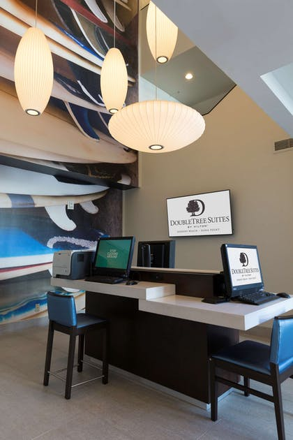 Business Center   DoubleTree Suites by Hilton Hotel Doheny Beach - Dana Point