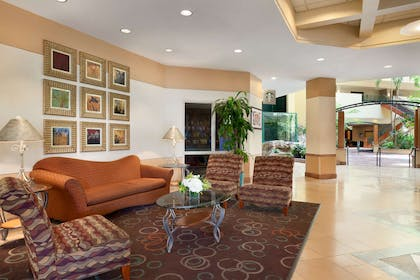 Reception   Embassy Suites by Hilton Tampa USF Near Busch Gardens