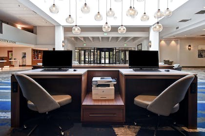 Business Center | Embassy Suites by Hilton Omaha-Downtown-Old Market