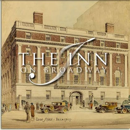 Inn with logo | Inn on Broadway