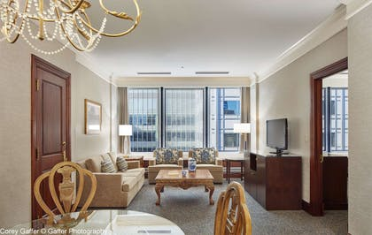 SittingArea | The Towers At Kahler Grand Hotel