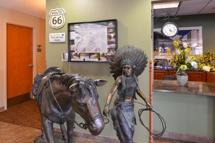 Lobby Statue | Country Hearth Inn & Suites Edwardsville St. Louis