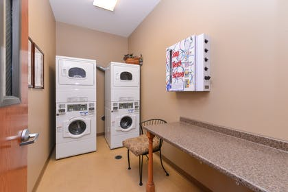Laundry Facility | Country Hearth Inn & Suites Edwardsville St. Louis