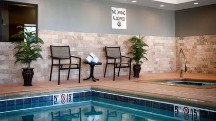 Indoor Pool | Best Western Plus Stevens County Inn