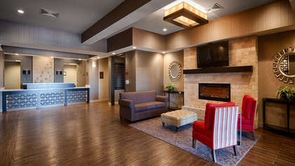 Lobby | Best Western Plus Stevens County Inn