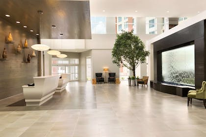 Reception   Embassy Suites by Hilton Charlotte Ayrsley